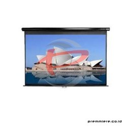 MICROVISION Screen Projector Manual Wall Screen 84 INCH [MWSMV2121L]